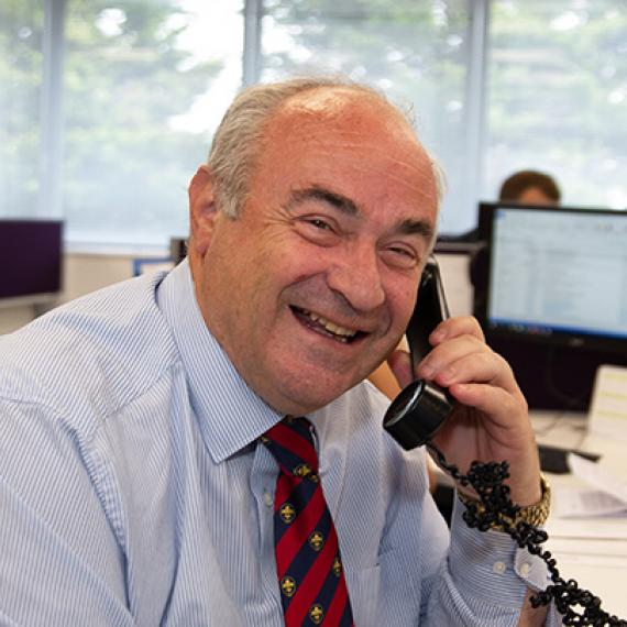 Martin, Charities Insurance Development Manager