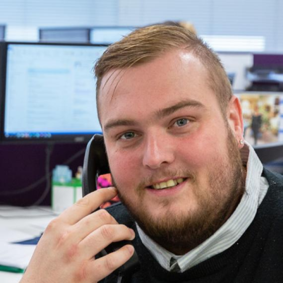 Matthew, New Business Account Handler
